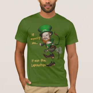 Farting Leprechaun Funny Irish Tee