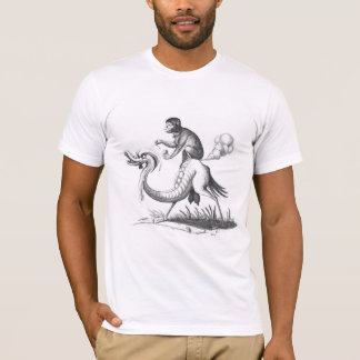 Farting Monkey on a Monster T-Shirt