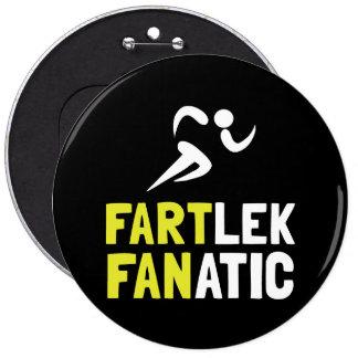Fartlek Fanatic 6 Cm Round Badge