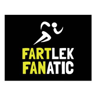Fartlek Fanatic Postcard