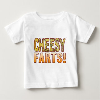 Farts Blue Cheesy Baby T-Shirt