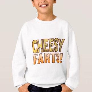 Farts Blue Cheesy Sweatshirt