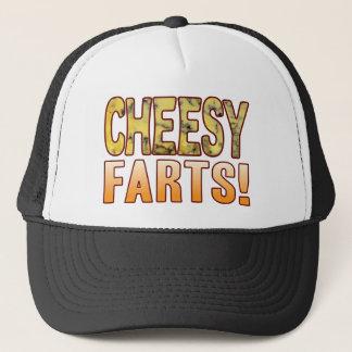 Farts Blue Cheesy Trucker Hat
