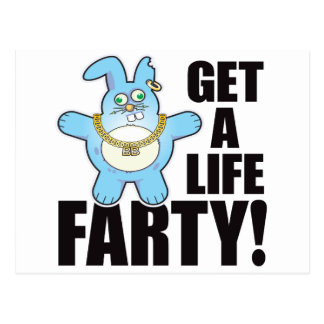 Farty Bad Bun Life Postcard