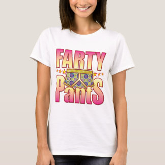 Farty Flowery Pants T-Shirt
