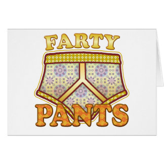 Farty Pants. Greeting Card