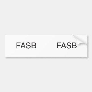 fasb.ai bumper stickers