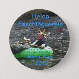Faschingverein River Run 7.5 Cm Round Badge