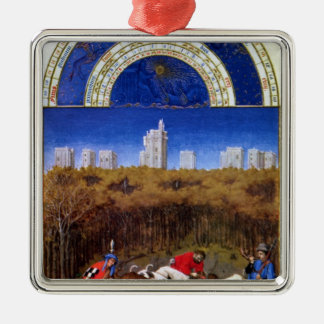 Fascimile of December Christmas Ornament