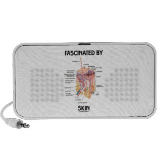 Fascinated By Skin (Skin Layers) Travelling Speakers