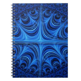 fascinating spiritual ice blue journals