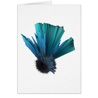 fascinator accesories greeting card