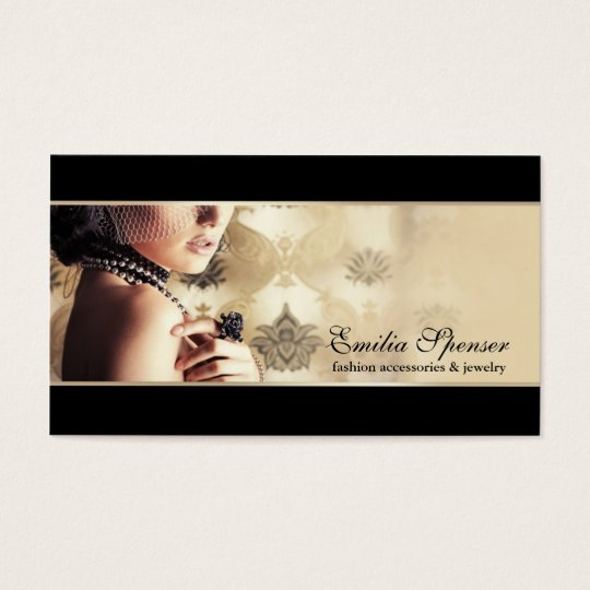 Fashion Accessories & Jewellery Business Card