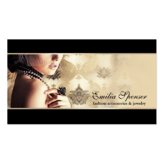 Fashion Accessories & Jewelry Business Card