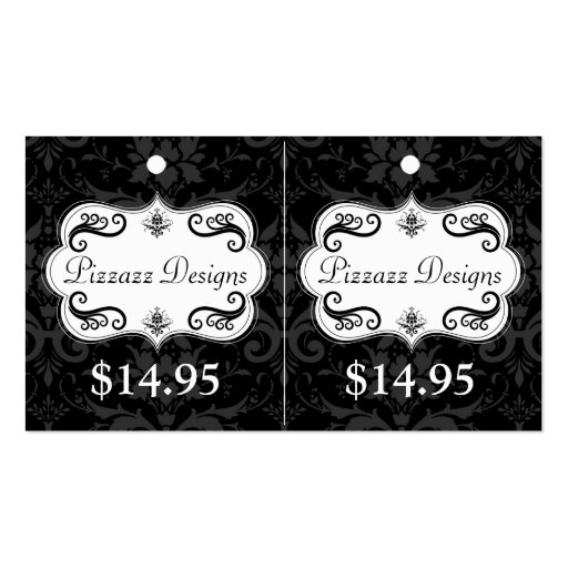 Fashion Accessory Hang Tags Business Card