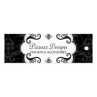 Fashion and Accessory Boutique Hang Tags Business Cards