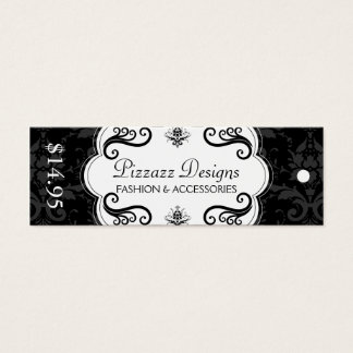 Fashion and Accessory Boutique Hang Tags Mini Business Card