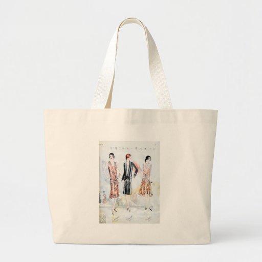 Fashion, April, 1928 Jumbo Tote Bag