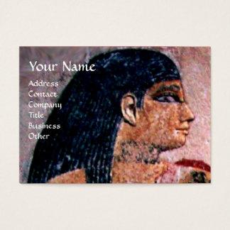 FASHION & BEAUTY OF ANTIQUE EGYPT MONOGRAM BUSINESS CARD