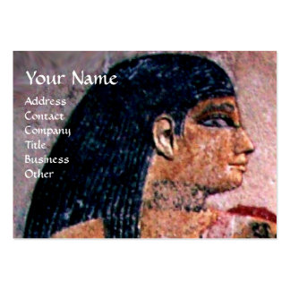 FASHION & BEAUTY OF ANTIQUE EGYPT MONOGRAM PACK OF CHUBBY BUSINESS CARDS