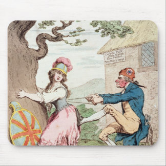 Fashion Before Ease or A Good Constitution...' Mouse Mat