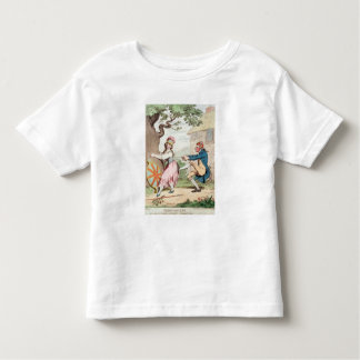Fashion Before Ease or A Good Constitution...' Toddler T-Shirt