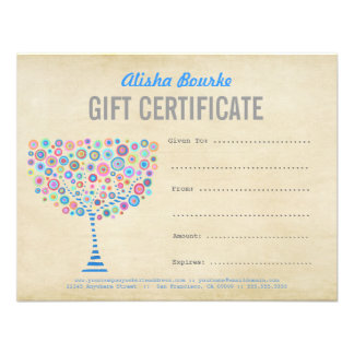 Fashion Business Gift Certificate Template