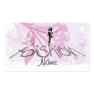Fashion Bussines Card Business Cards