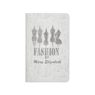 Fashion By Add  your name Journal