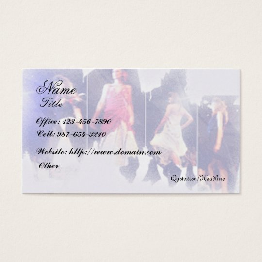 Fashion/Clothing Designer Business Card