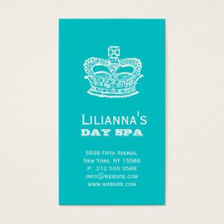 Fashion Crown Salon Spa Business Card