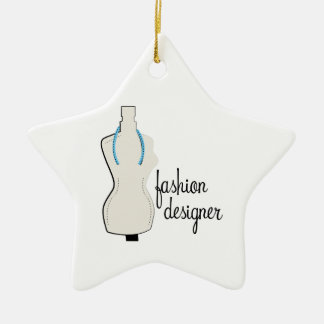 Fashion Designer Christmas Ornament