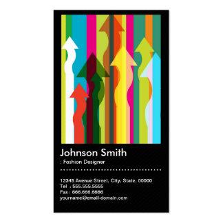 Fashion Designer - Colorful & QR Code Pack Of Standard Business Cards
