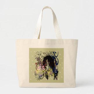 Fashion Diva Swirled Jumbo Tote Bag