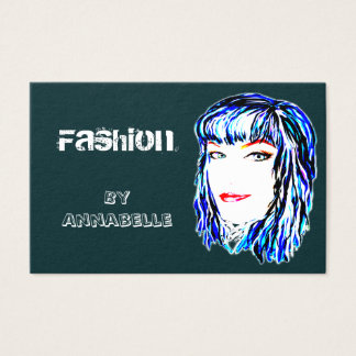 Fashion Female Urban and Trendy Design Business Card