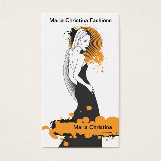 Fashion Forward Business Card (2)