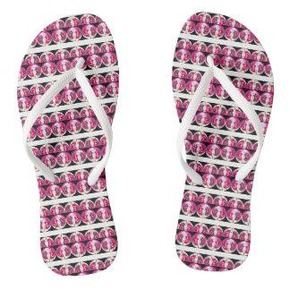 Fashion fun flip flops