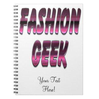 Fashion Geek Purple Note Book