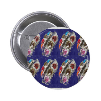 FASHION Gifts Jewels America NewJersey Trend Shade 6 Cm Round Badge