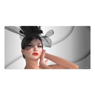 Fashion girl art photo