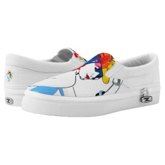 fashion girl low tops slip on shoes