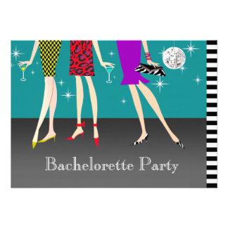 Fashion Girls Bachelorette Party Personalized Invitation