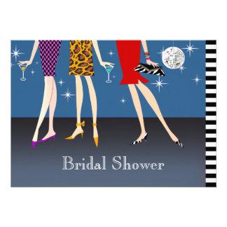 Fashion Girls Party Bridal Shower Invite