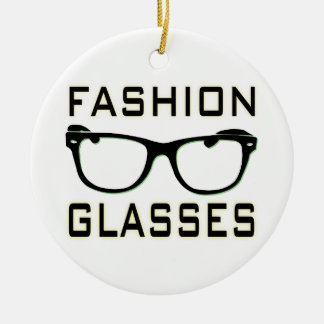 Fashion Glasses Christmas Ornament