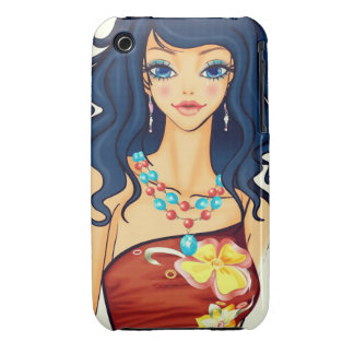 Fashion Godess iPhone 3 Case-Mate Cases