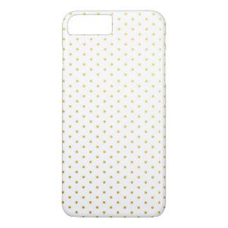 Fashion gold polka dots iPhone 8 plus/7 plus case