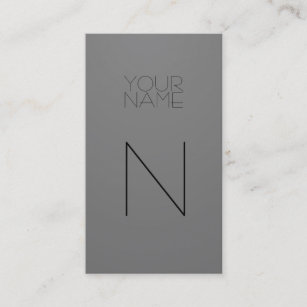 Fashion business cards zazzle uk fashion grey business card reheart Gallery