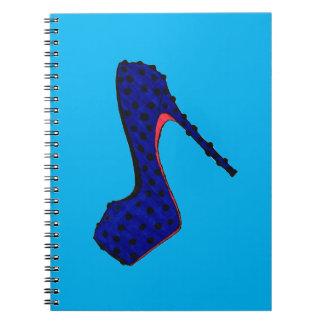 Fashion Heel Spiral Notebooks