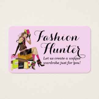 Fashion Hunter Business Card