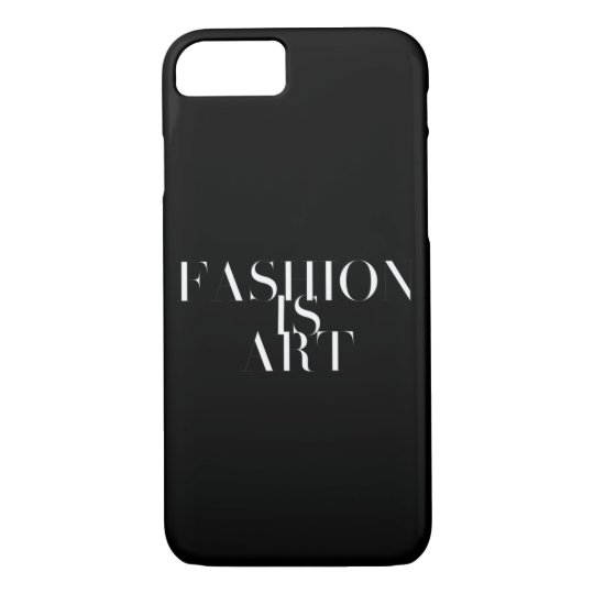 Fashion Is Art Phone Case